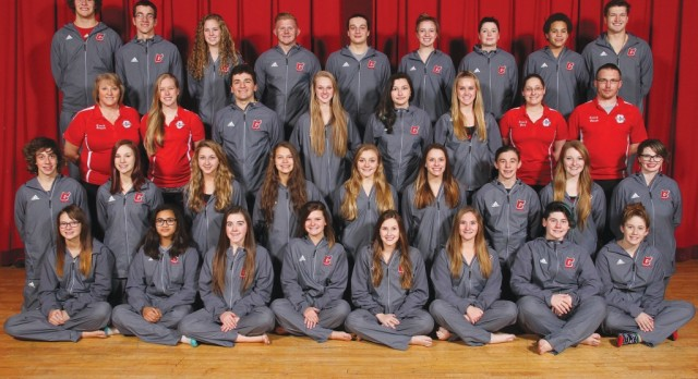 Red Devil Swimming advances individuals & two relays to Div. II District meet
