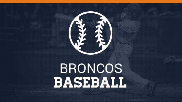 Walk Off Dog Pile! Bronco Varsity Baseball Clinches Playoff Spot!