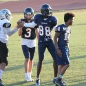 B Team JV football caged the cougars 36-0