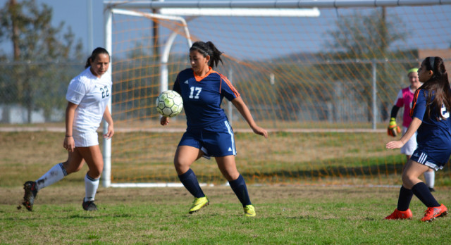 Jan 21, Brandeis Girls JV Soccer vs Clark, Win 2-1