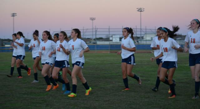 Jan 9, Brandeis Girls JV Soccer vs Johnson