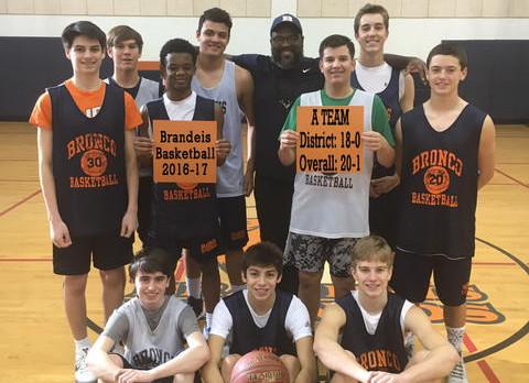 9th Grade Bronco Boys Basketball Finish Season Strong