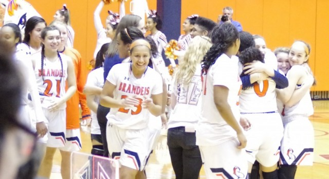 Brandeis Girls Basketball defeat Steele in Thriller 64-61