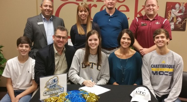 Mikaela Gauthreaux signs with University of Tennessee-Chattanooga