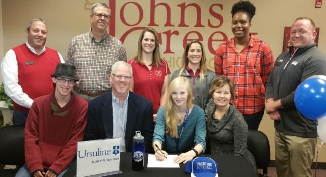Rachel Fletcher signs with Ursuline College