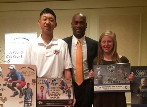 Andy Mao named male athlete of the month