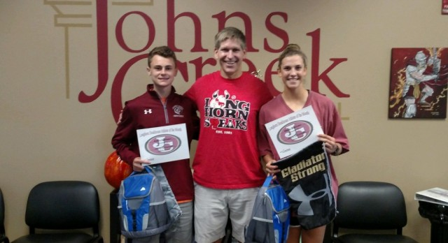 Longhorn Steakhouse August Athletes of the Month