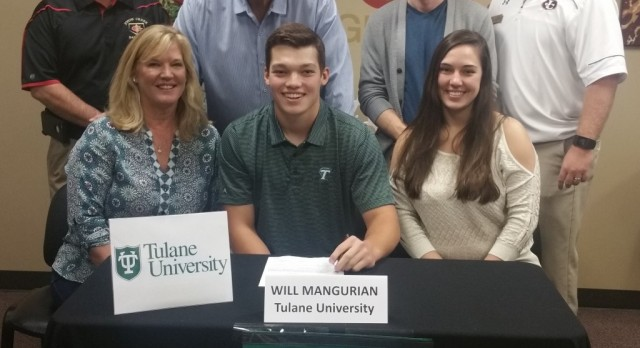 Will Mangurian to play baseball for the Green Wave of Tulane