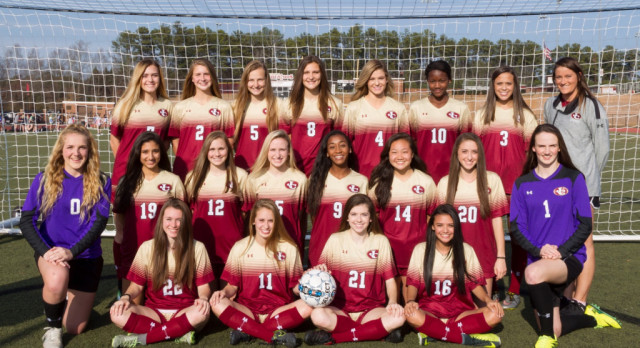 Girls Varsity Soccer team hosts First Round of State Playoffs