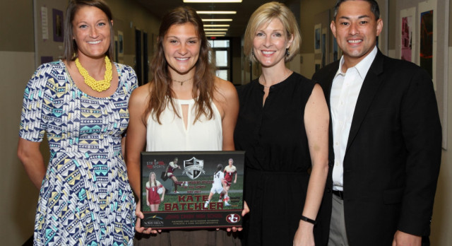 Kate Batchler named North Fulton Female Athlete of the month for May