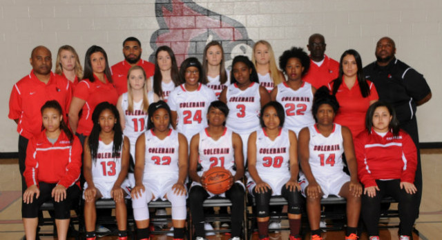 Colerain High School Girls Varsity Basketball falls to Fairfield Senior High School 62-45