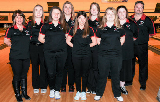 Colerain High School Girls Varsity Bowling finishes 5th place at Sectionals, ADVANCES TO DISTRICT TOURNAMENT!!