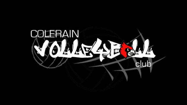 Colerain Volleyball Graffitti logo (Website edit)