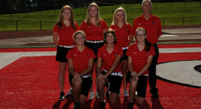 Colerain High School Girls Varsity Golf finishes 10th place