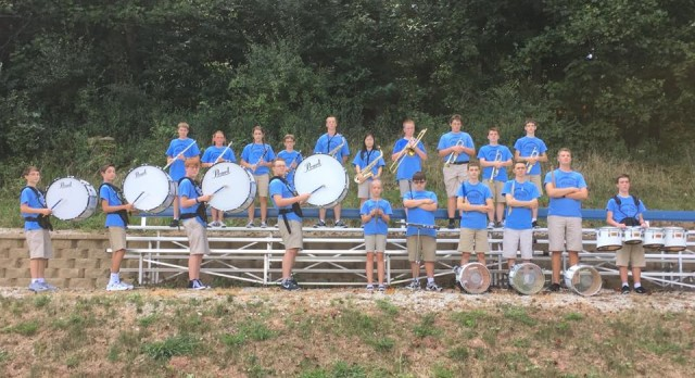 The 2016 Crusaders Marching Band
