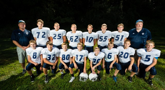 Middle School Football falls to Blue Devils