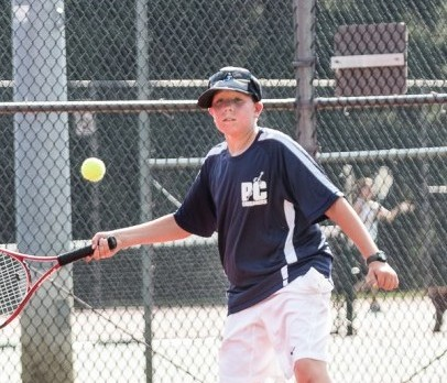 Boys' Tennis sweeps Williamstown