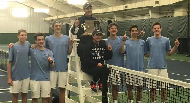 Crusader Tennis Wins A/AA Title