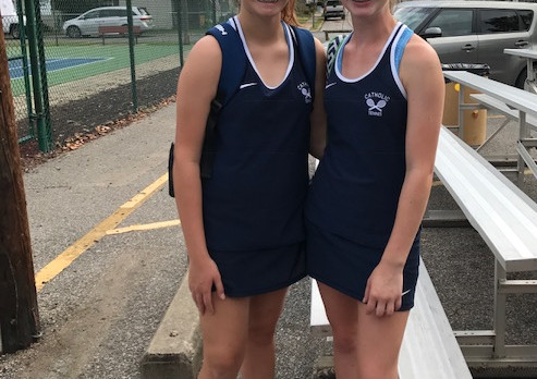 Roberts, McCarty and Isaly in Tennis Finals