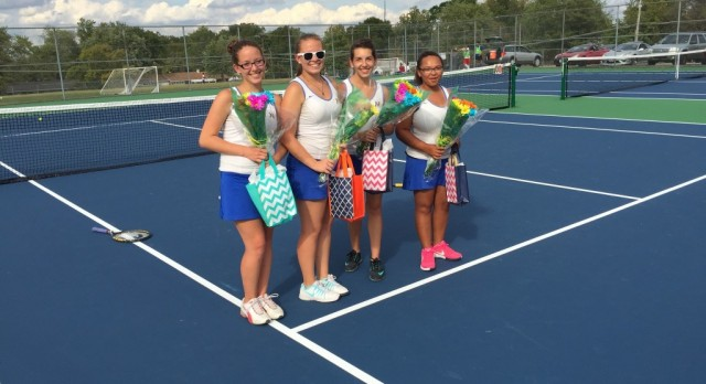 Tennis Senior Day