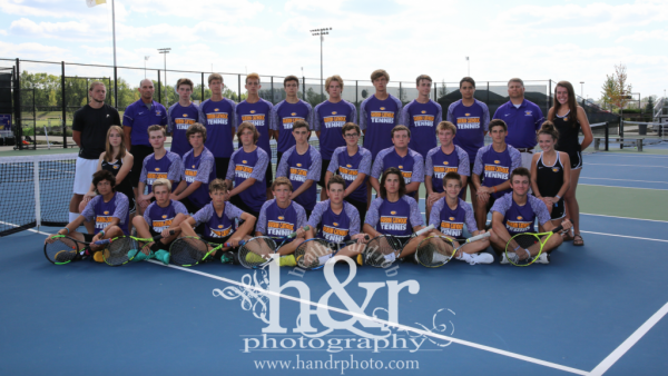 GCHS Boys Tennis 2017 H&R