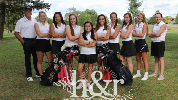 GCHS Girls Golf 2017 H&R