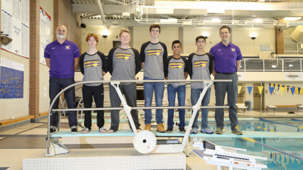 GCHS boys swim