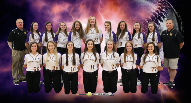 Golden Eagles Softball Over Brebeuf 13-3
