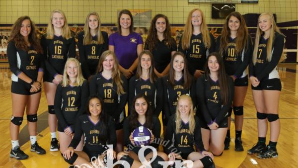 GCHS JV Girls Volleyball 2017 H&R