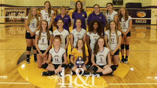 GCHS GIrls Volleyball Freshman 2017 H&R