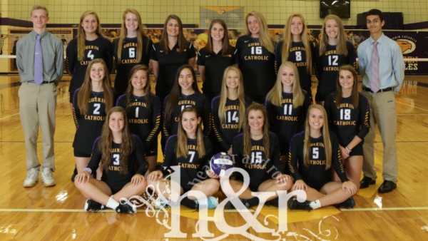 GCHS Varsity Volleyball 2017 H&R