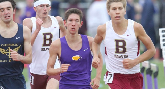 Guerin Catholic's Joe Taylor & Christopher Bluish heading to Boys Track Regional