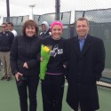 GCHS Girls Tennis Senior Night 2014