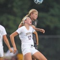 Girls Varsity Soccer vs. Brebeuf  8-30-14