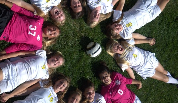 GC Girls Soccer Varsity and JV Gold Soccer with big wins over Pike!