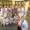 Boys Basketball vs. Griffith STATE FINALS 3-28-15