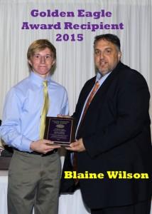 Award 2015 Blaine Wilson