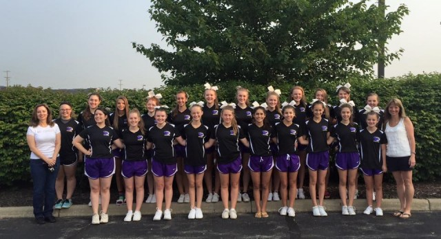Cheer Team wins 1st at UCA Camp, All American and Jump Champion