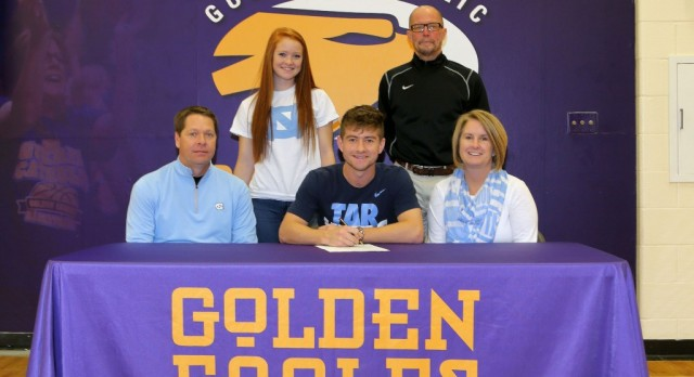 Congratulations to Cameron Lindley for signing to play Soccer at University of North Carolina