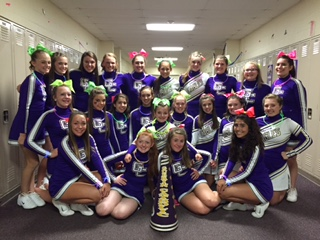 Camp Purple for young Cheerleaders