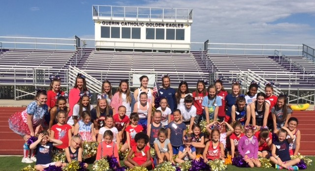 Cheerleading Camp Purple a huge Success