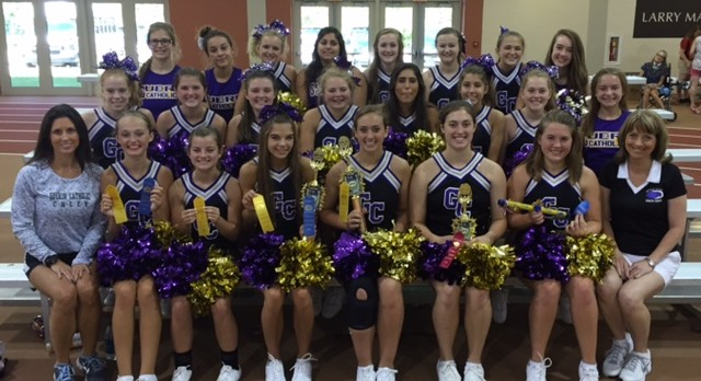 GCHS Cheerleaders attend UCA Cheer Camp at Anderson University