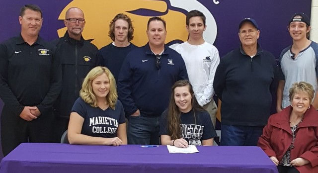 Allison Cowan commits to Marietta College to play volleyball