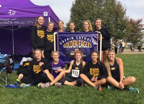 Girls Cross Country Road to IHSAA State