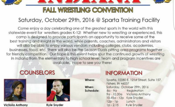 Indiana Fall Wrestling Convention