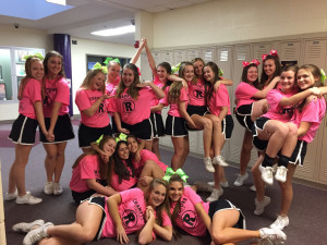 Cheerleaders - silly picture