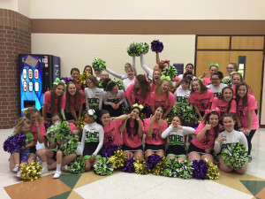 GCHS & SO Cheerleaders - silly picture