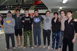 GC Boys Swim Team seniors