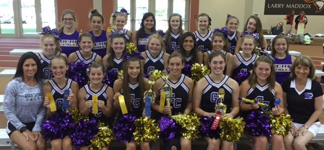 GCHS Cheerleaders will host Cheer Clinic Sat. Feb 4th