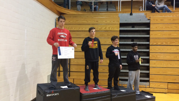Senior wrestler JT Lazzara finishes second at Regionals.